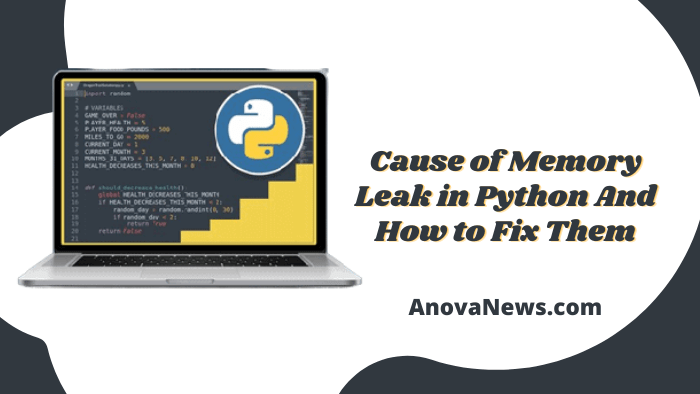 Cause of Memory Leak in Python